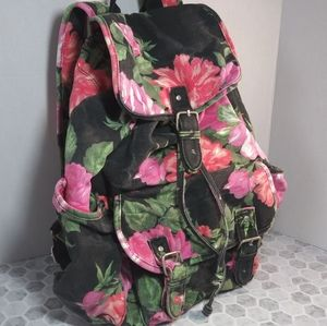 Cute flower backpack